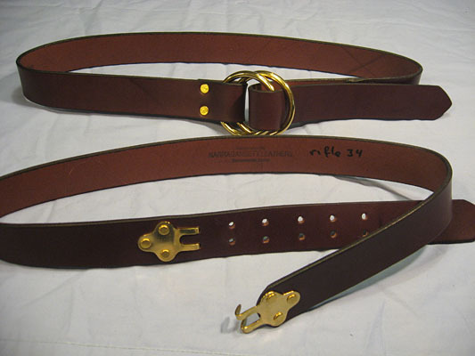 My go-to casual belt is a rifle sling belt