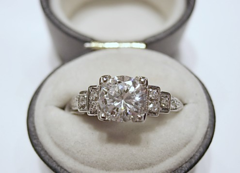 Q and Answer: Choosing an Engagement Ring