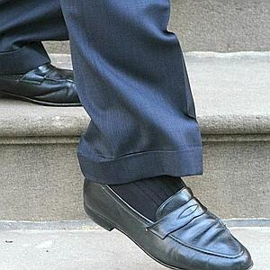 Michael Bloomberg has only two pairs of work shoes