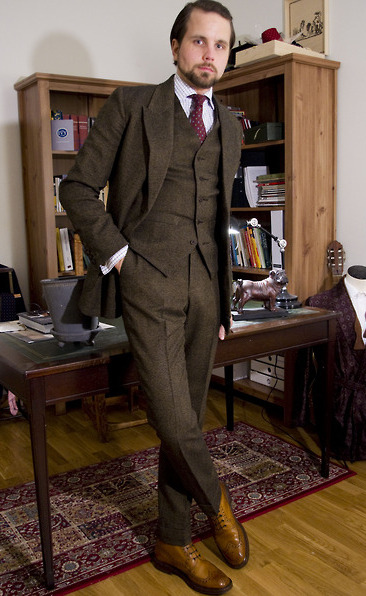 Real People: The Three-Piece Suit