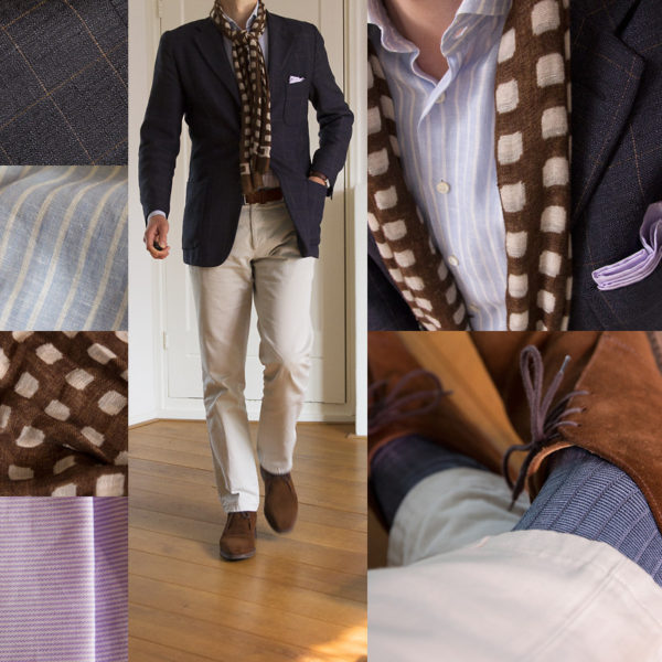 Real People: Spring Scarves and Patterns