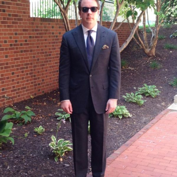 Real People: The Peak-Lapel, Single-Breasted Suit