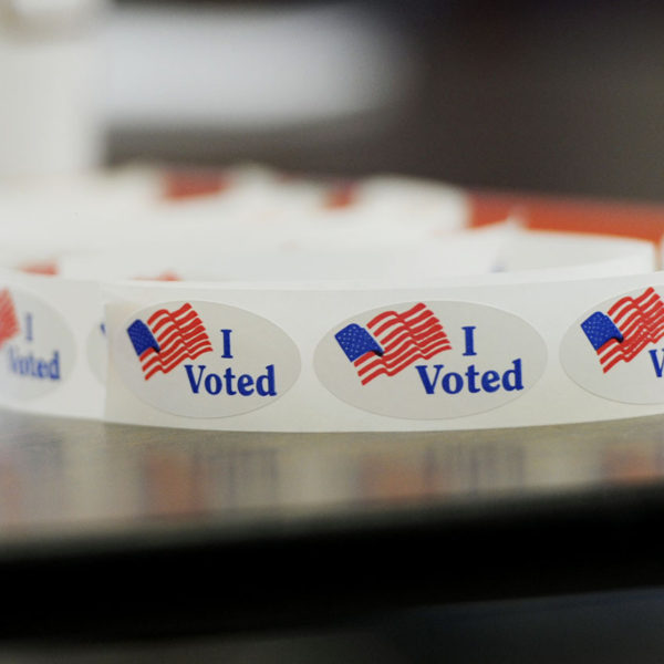 """The Story Behind That""""I Voted"""" Sticker"""