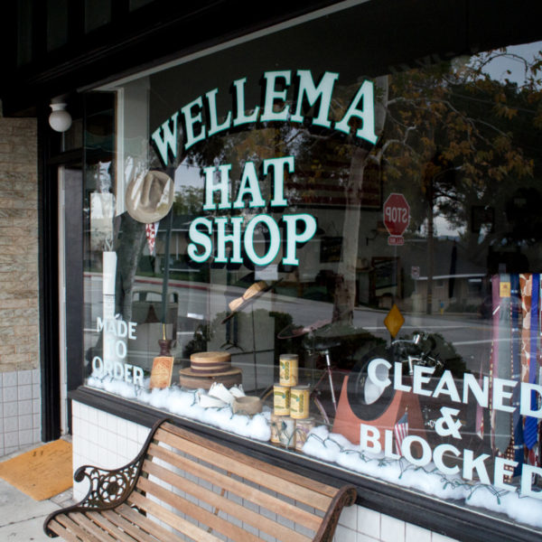 Store Visits: Wellema Hat Shop in Altadena, California