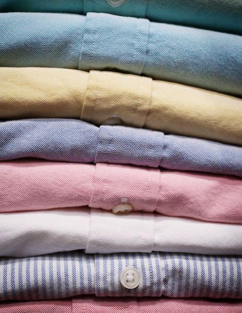 A Rundown of Oxford Shirt Colors