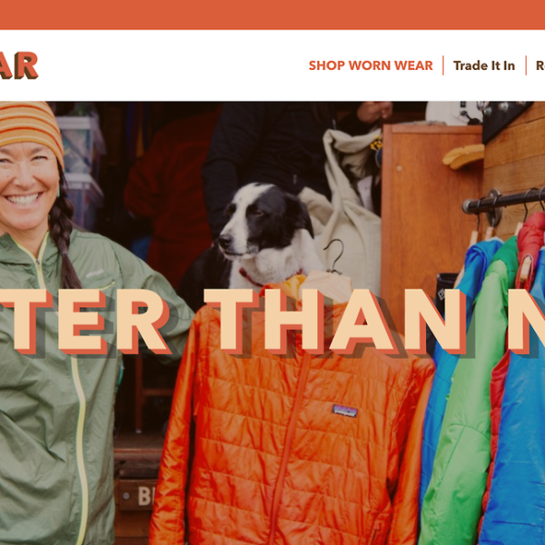 Patagonia Goes Online with Recycling