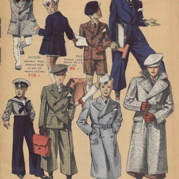 Bayard in the 1930s: Formal Wear, Kids & Women's