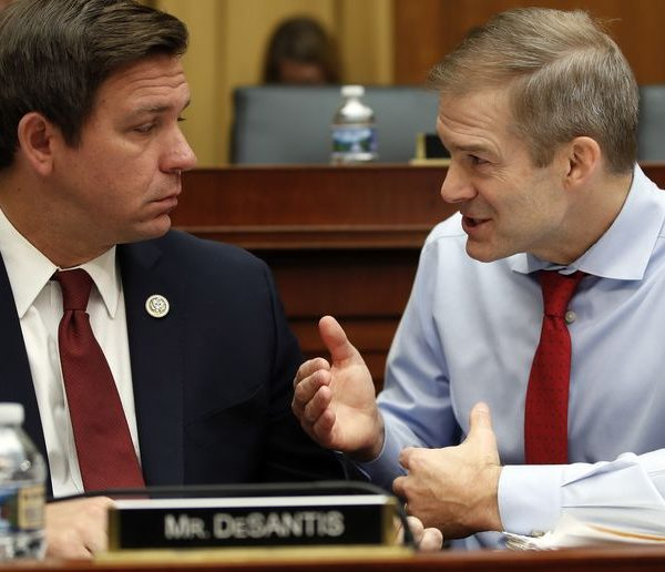 What's Going on With Congressman Jim Jordan's Jacket?