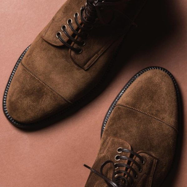 Fear and Clothing: Keeping Suede Shoes Clean This Winter