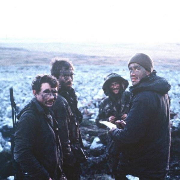 Barbours in the Falklands