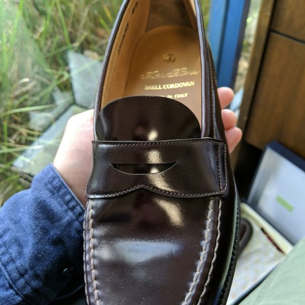 Update on Brooks Brothers' Alden Shoes