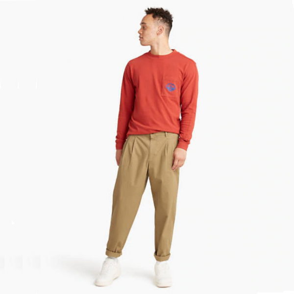 Are Dockers' Baggy, Double-Pleated Chinos Now ... Good?