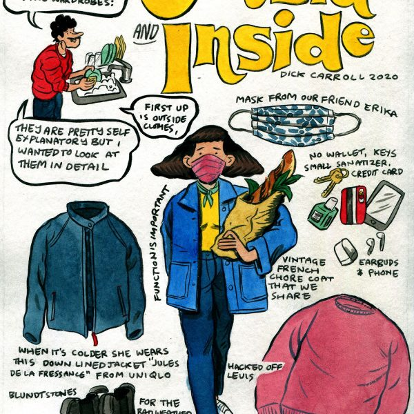 Style & Fashion Drawings: Outside and Inside