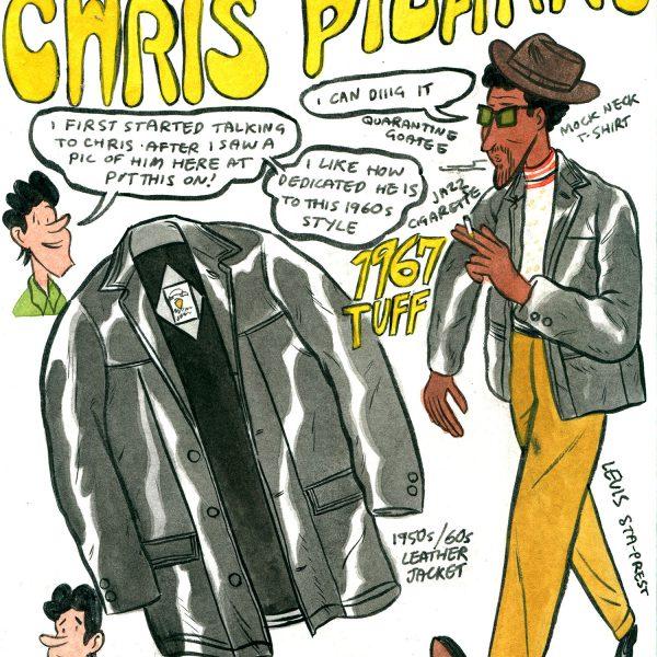 Style & Fashion Drawings: My Mate Chris Pizarro
