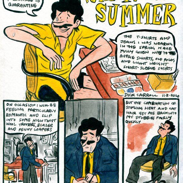 Style & Fashion Drawings: Quarantine Summer