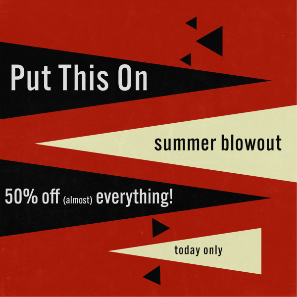 Today Only: The PTO Summer Blowout
