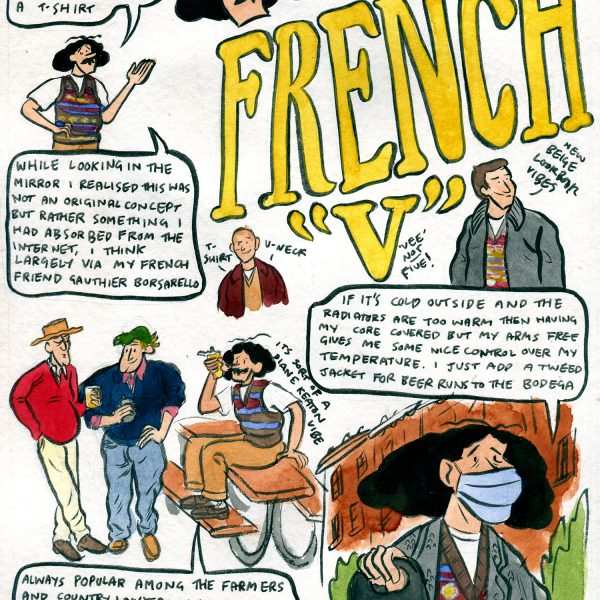"""Style & Fashion Drawings: French """"V"""""""