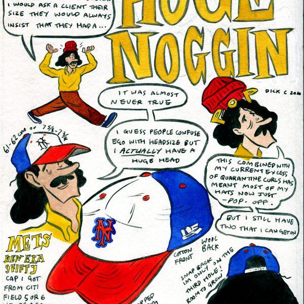 Style & Fashion Drawings: Huge Noggin'