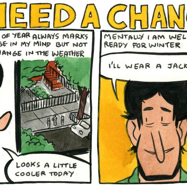 Style & Fashion Drawings: I Need a Change